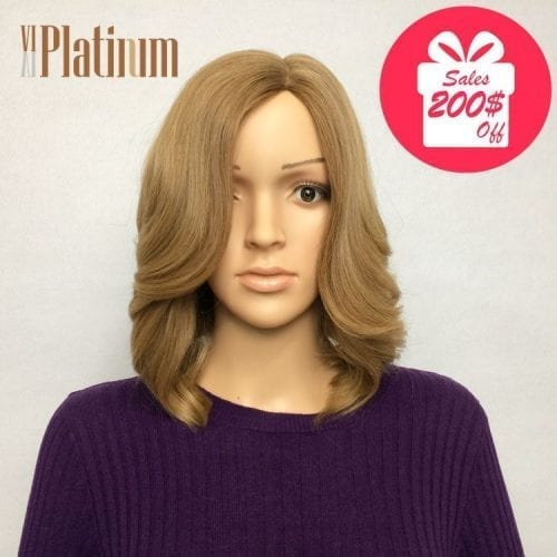 blond russian hair wig
