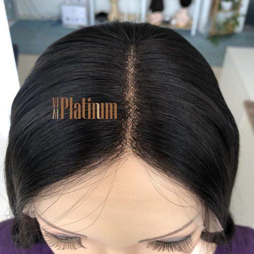 lace top jewish wig 18#2-4