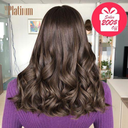 european hair wig 20#6-8