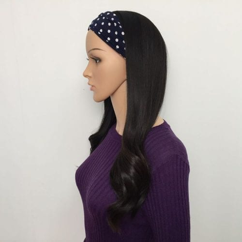 bandfall ponytail wig pony wig half wig
