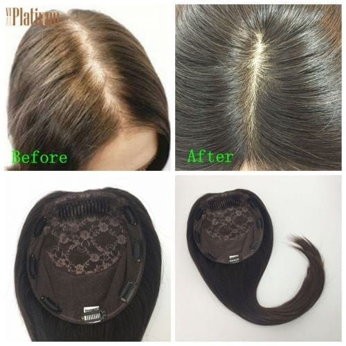 women toupee human hari topper kippah fall