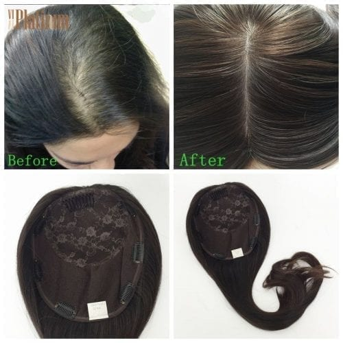 human hair topper women topper women toupee