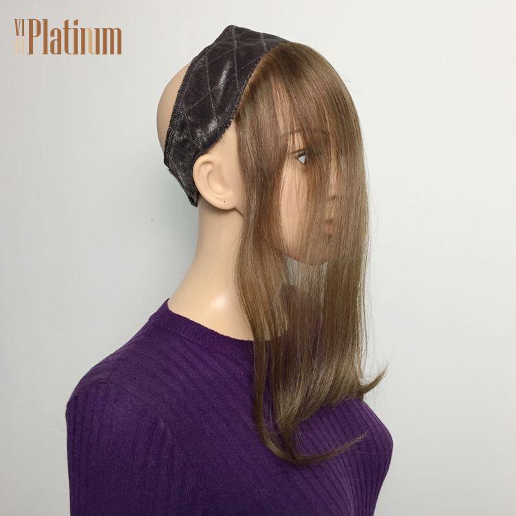 lace grip velvet headband