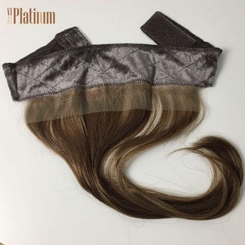 lace grips velvet headband