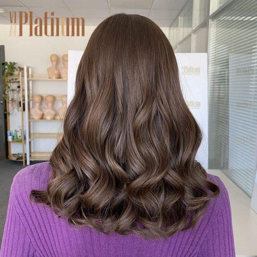 european hair wig 18#6-8