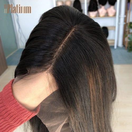 lace top european hair wig
