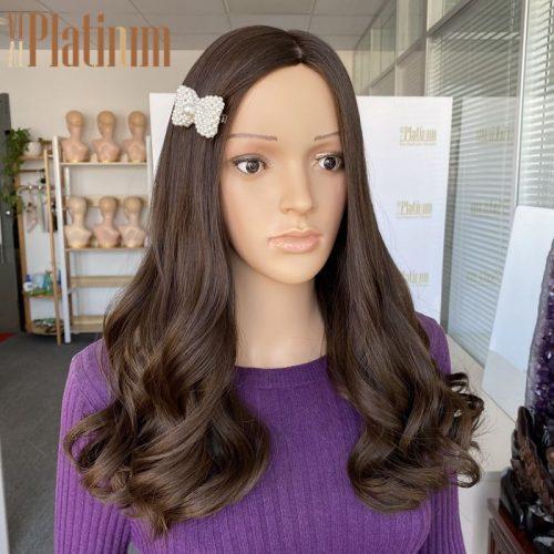 European hair wig 21#6-8