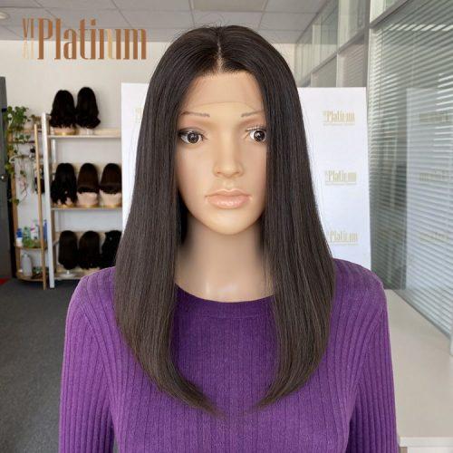 lace top jewish wig