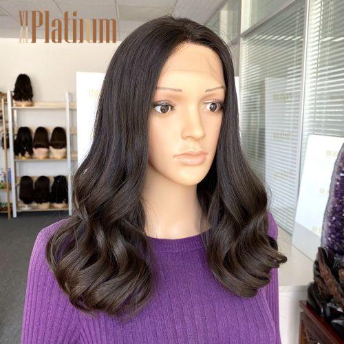 lace top jewish wig 18-19#4