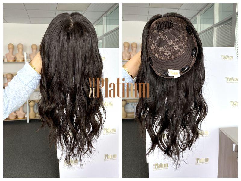 kippah fall wig 15-16#4