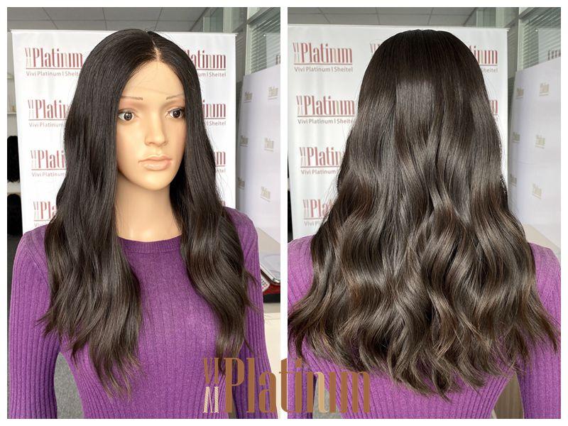 lace top jewish wig 21-22#4