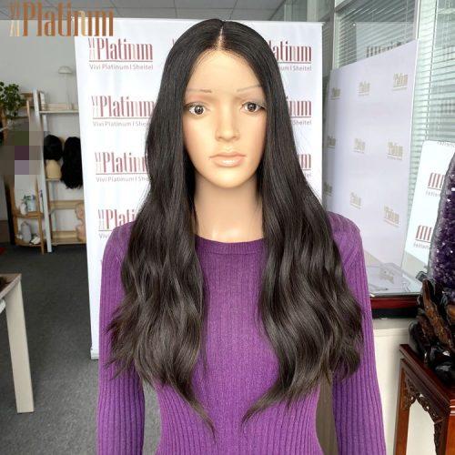 lace top jewish wigs 23-24#2-4